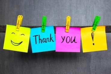 Boas maneiras para crianças: bilhetes de agradecimento