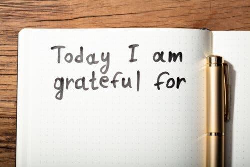 Os bilhetes de agradecimento