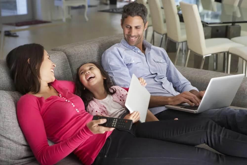 Tempo livre em casa com a família: não fazer nada também é bom