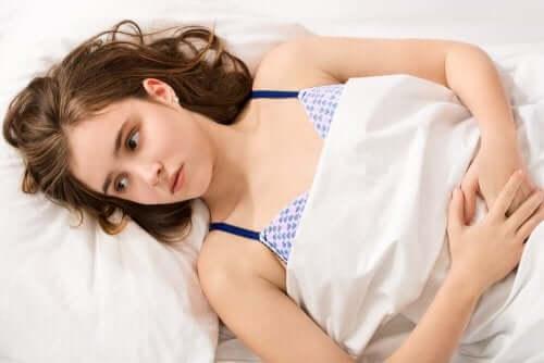 Períodos menstruais irregulares