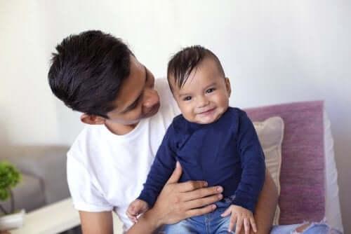 Visitar alguém com o seu bebê