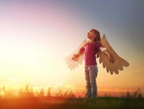 Jogos de relaxamento: fingir ser um pássaro