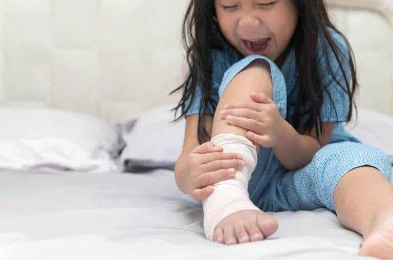 Entorse de tornozelo em crianças
