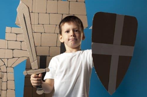 artesanatos para crianças usando papelão