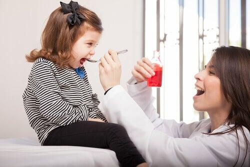 Alergia a medicamentos em crianças