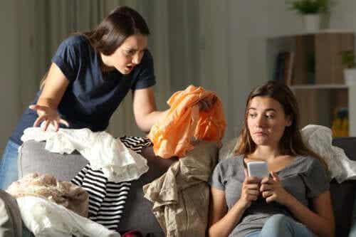 Por que seu filho adolescente não quer fazer as tarefas de casa