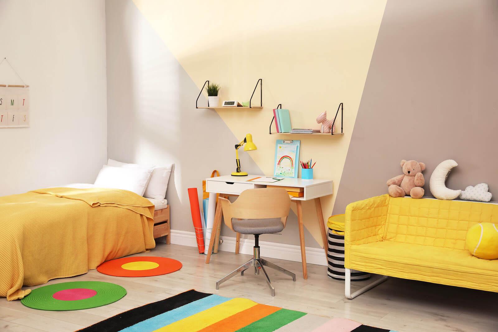 dicas para fazer do quarto das crianças um espaço multitarefa ideal