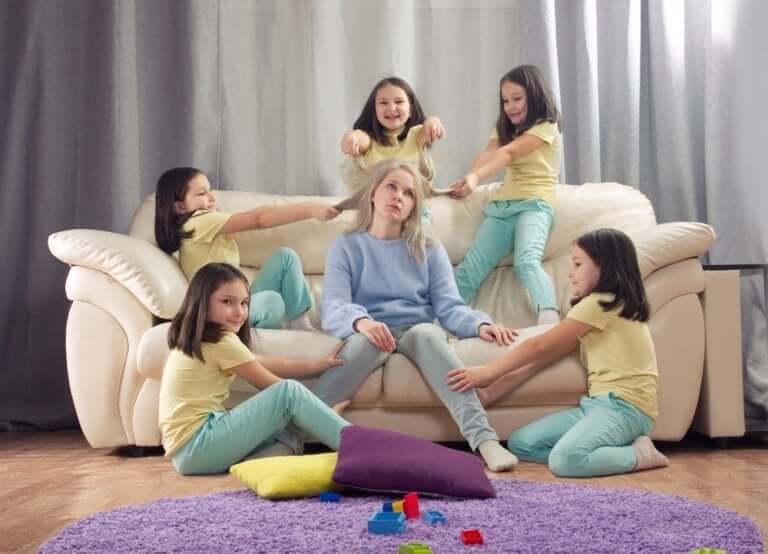 Crianças agitadas ou hiperativas?