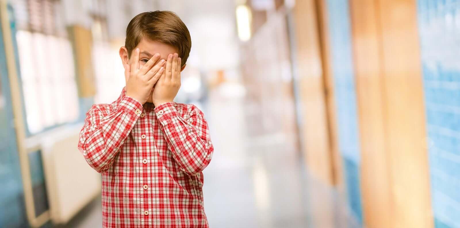A vergonha tóxica em crianças