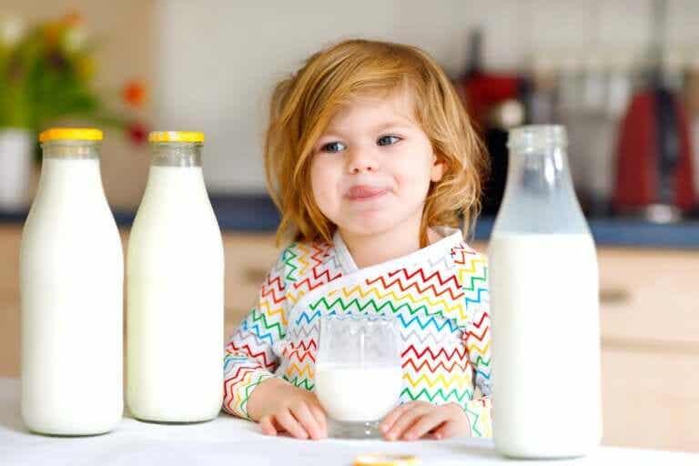 Alergia à proteína do leite de vaca em crianças