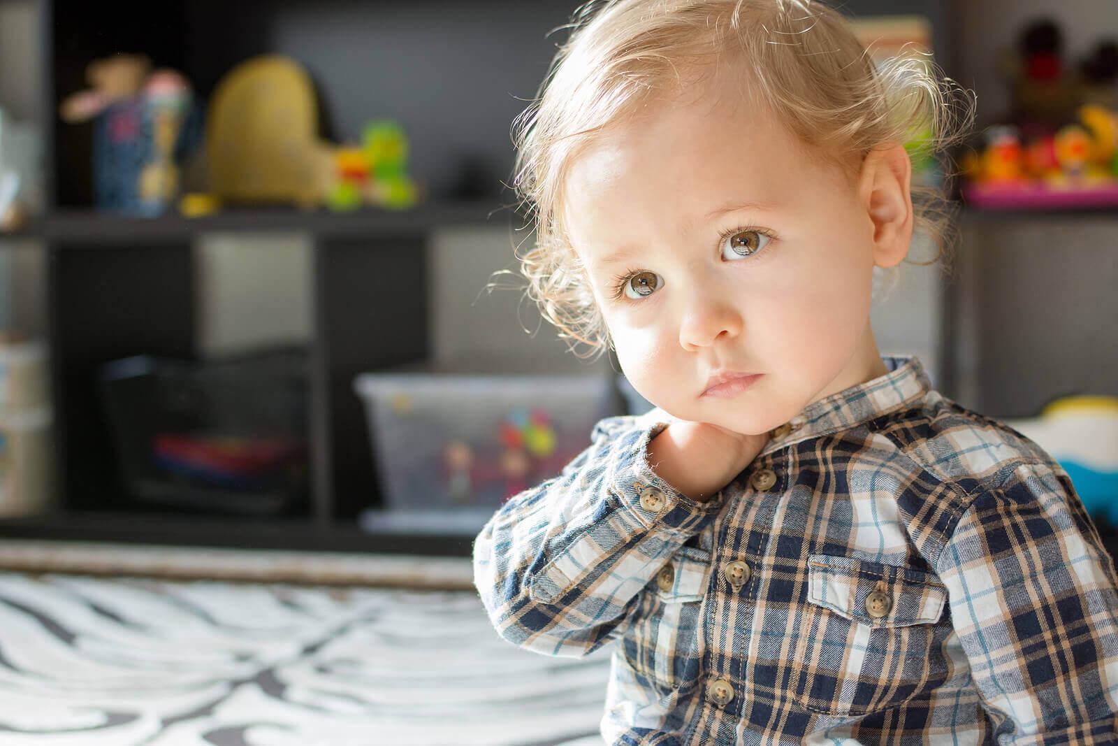Como reconhecer quando uma criança está triste