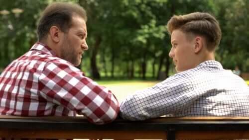 Vantagens de discutir com os filhos de forma positiva