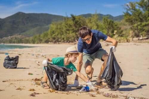 Atividades de educação ambiental em família