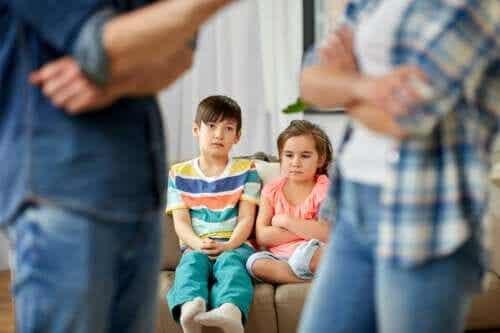 Por que é importante se reconciliar na frente das crianças?