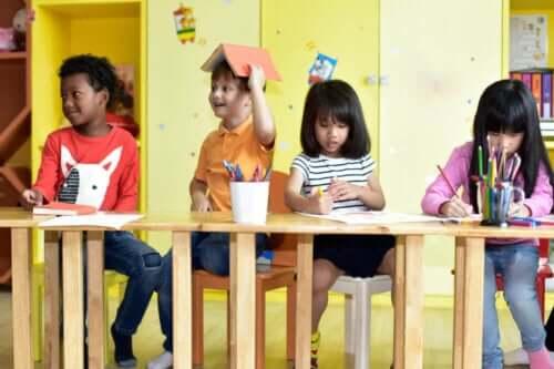 Como preparar as crianças para a entrada na pré-escola
