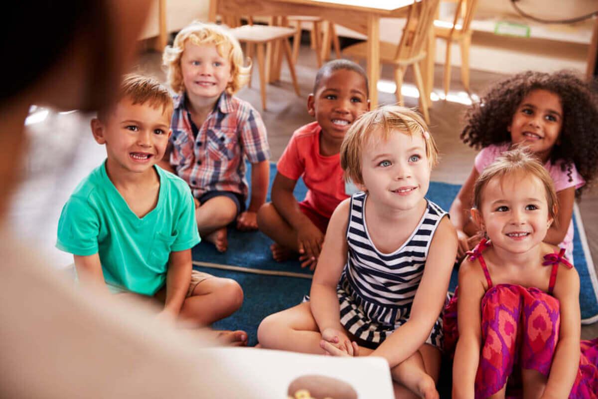preparar as crianças para a entrada na pré-escola