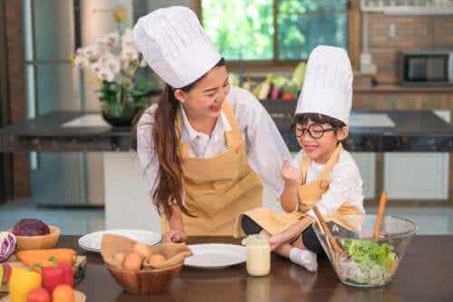 Atividades culinárias para crianças de 3 a 6 anos