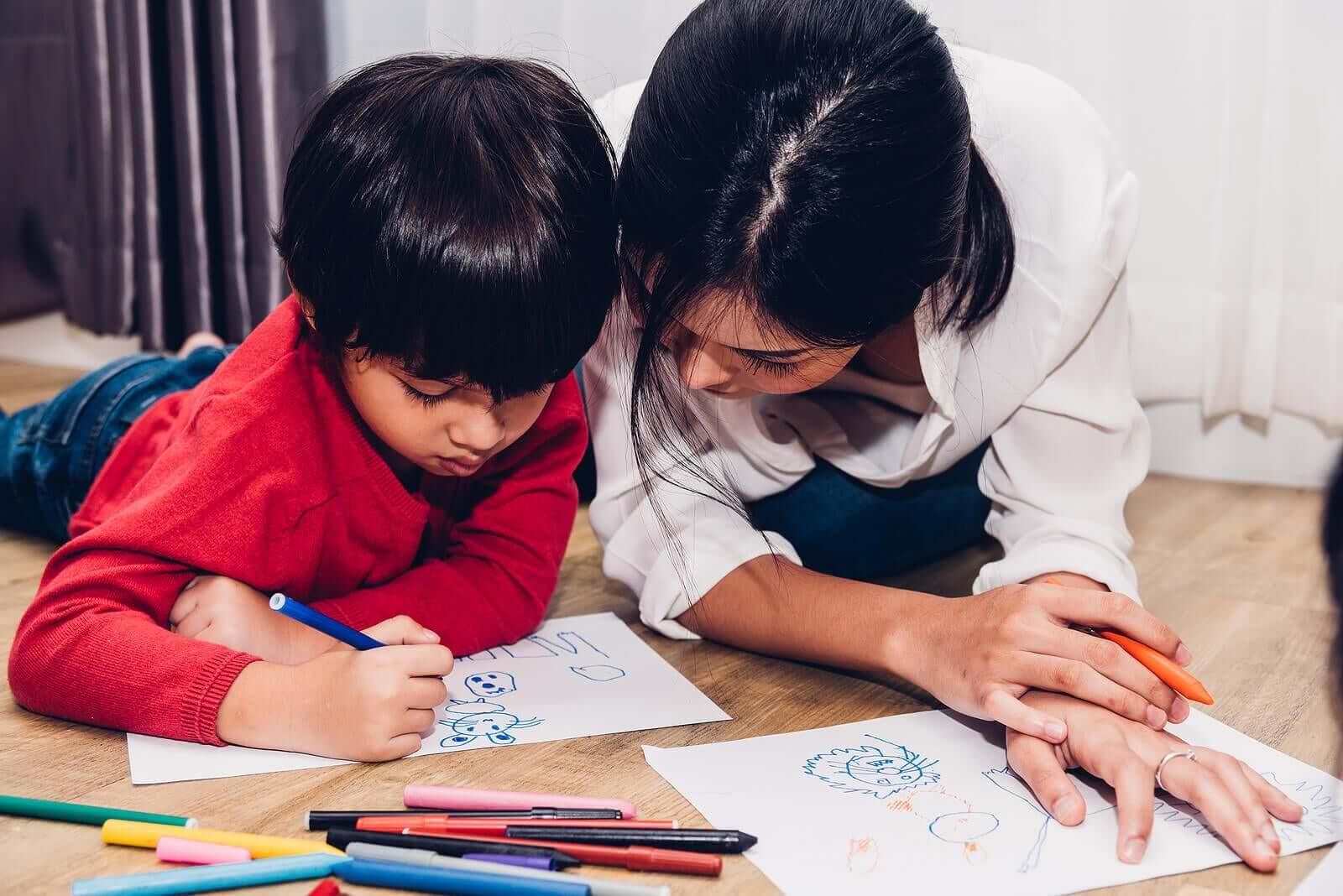 Evolução da expressão gráfica em crianças