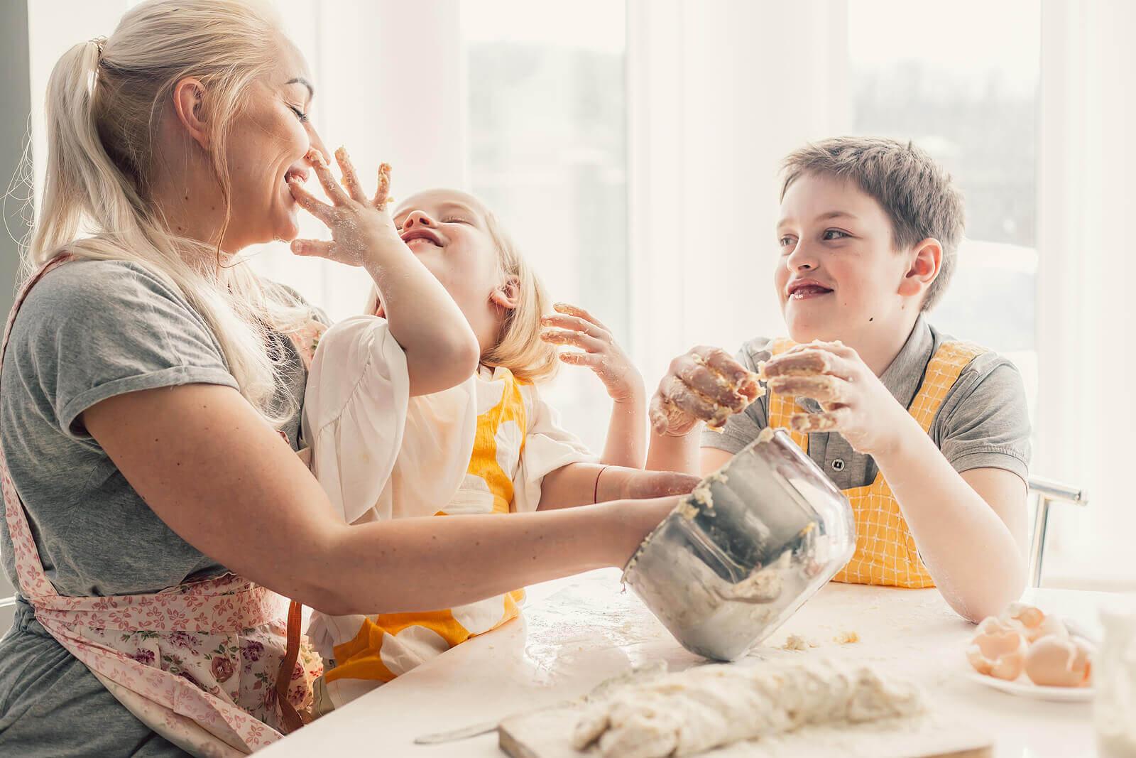 Atividades culinárias para crianças