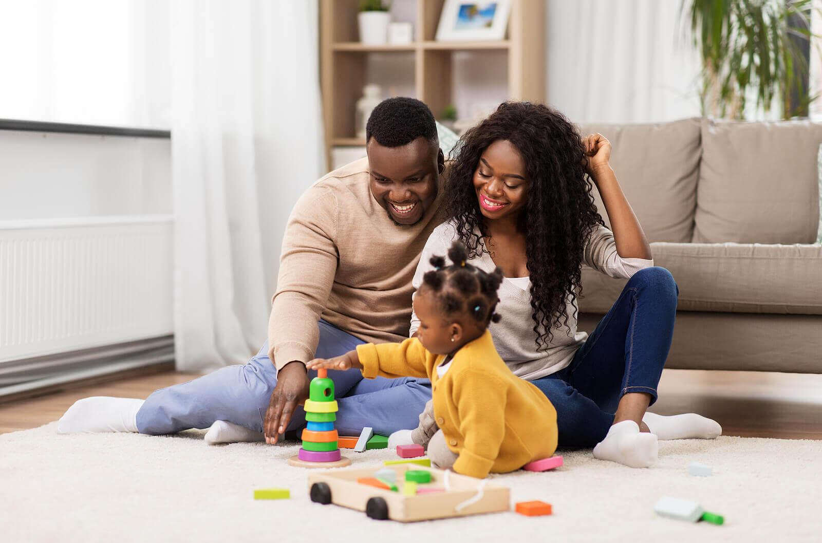 Pais felizes, filhos felizes: regra básica da maternidade