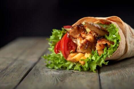 Receitas de fast food saudável para adolescentes