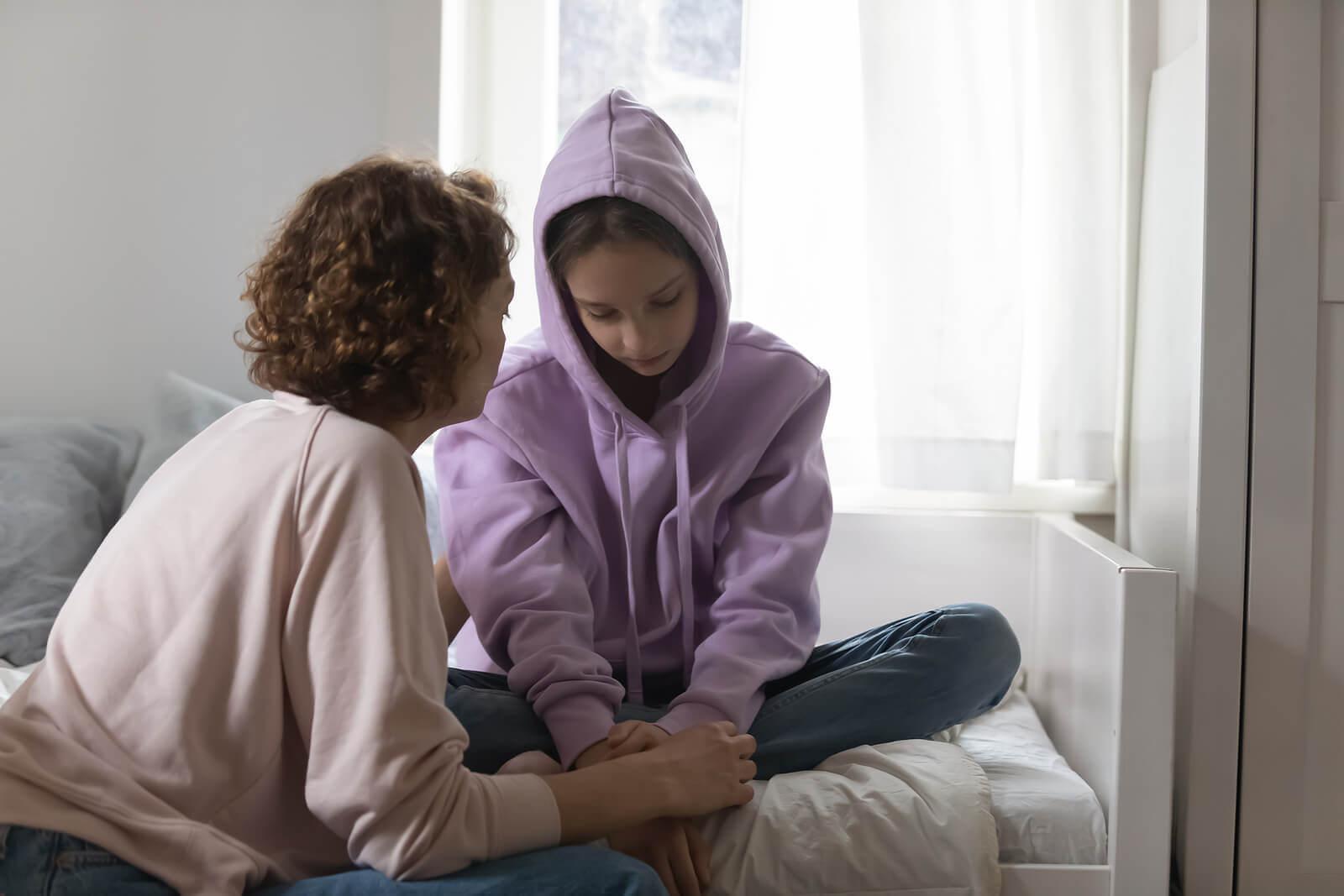 Ensine os seus filhos a não levar nada para o lado pessoal