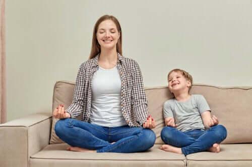 Os melhores métodos de relaxamento para crianças de acordo com a idade