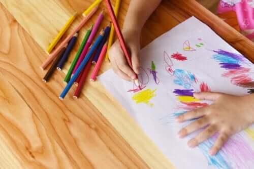O desenho como a primeira escrita da criança