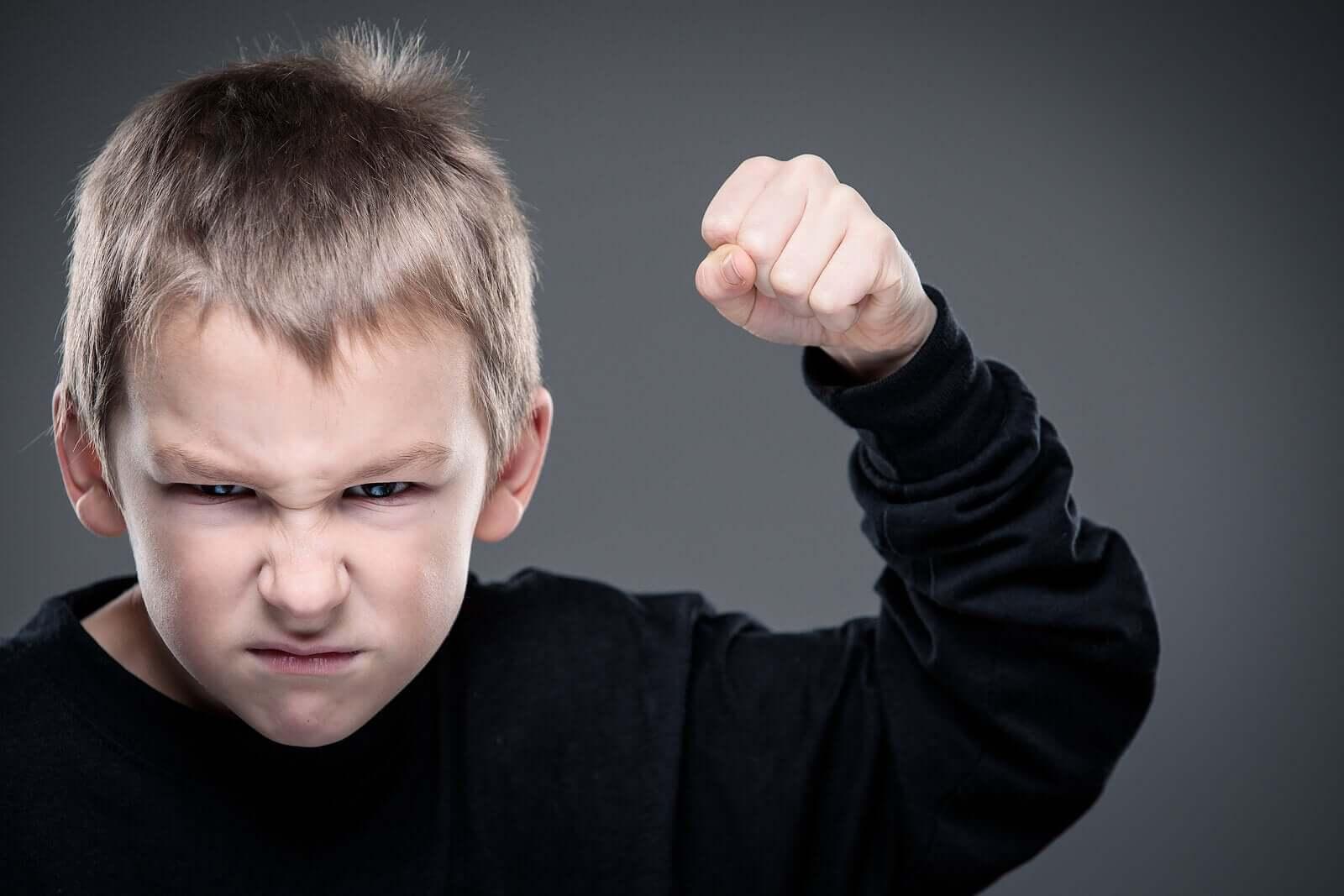 as crianças se tornam agressivas