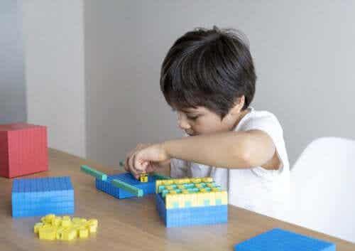 Como as crianças aprendem as habilidades matemáticas
