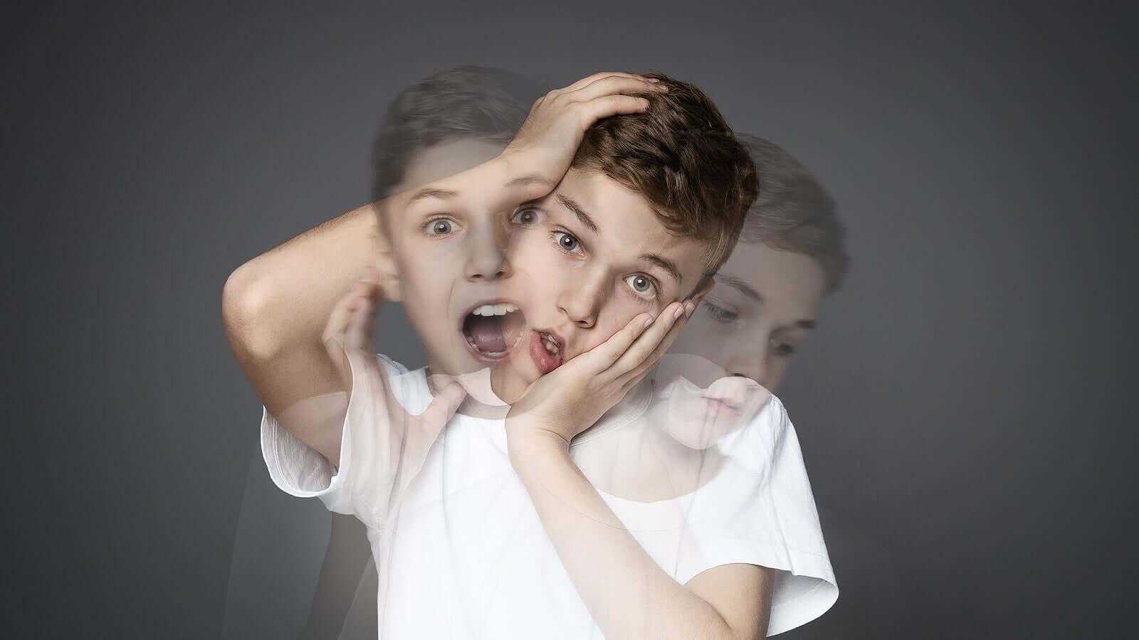 Esquizofrenia infantil: sintomas, causas e tratamento