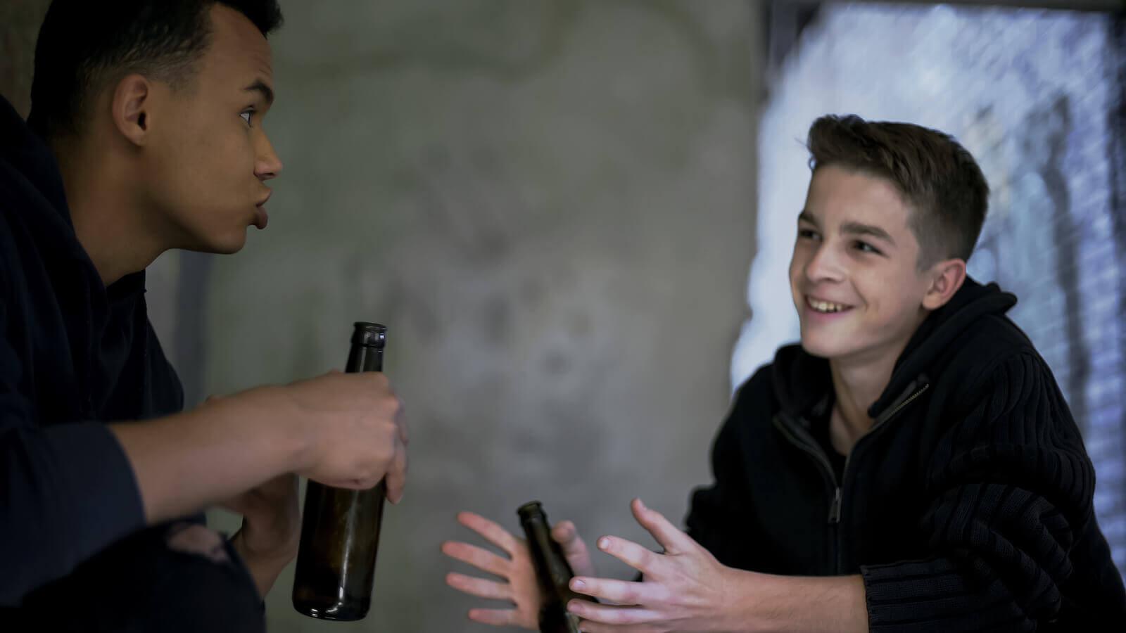 Consumo de álcool por adolescentes