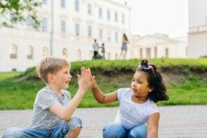O desenvolvimento da personalidade em crianças