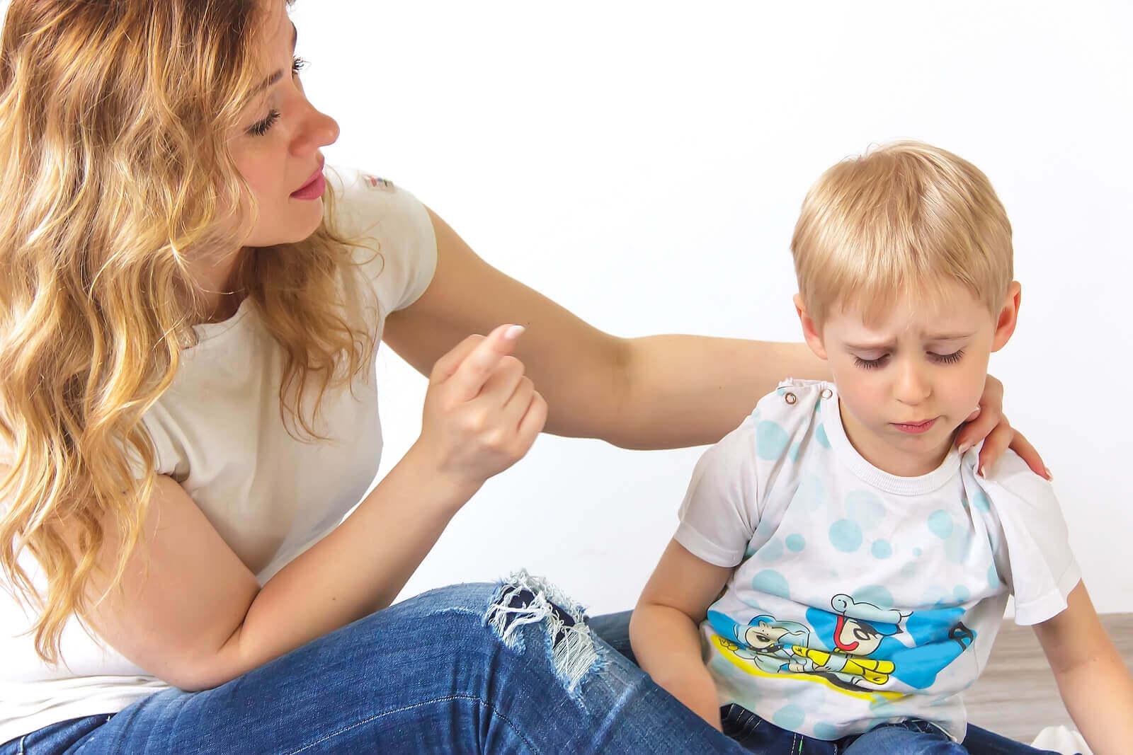 repetir as coisas para os seus filhos 5 vezes