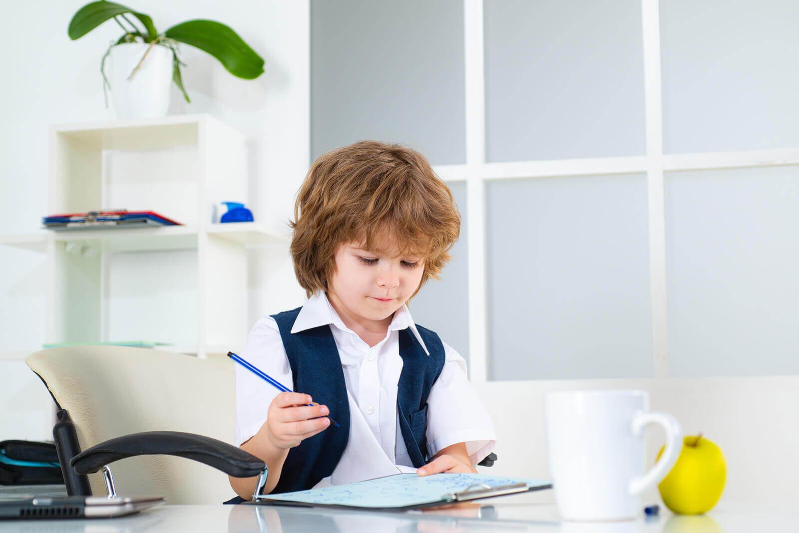 A mente absorvente de acordo com Montessori