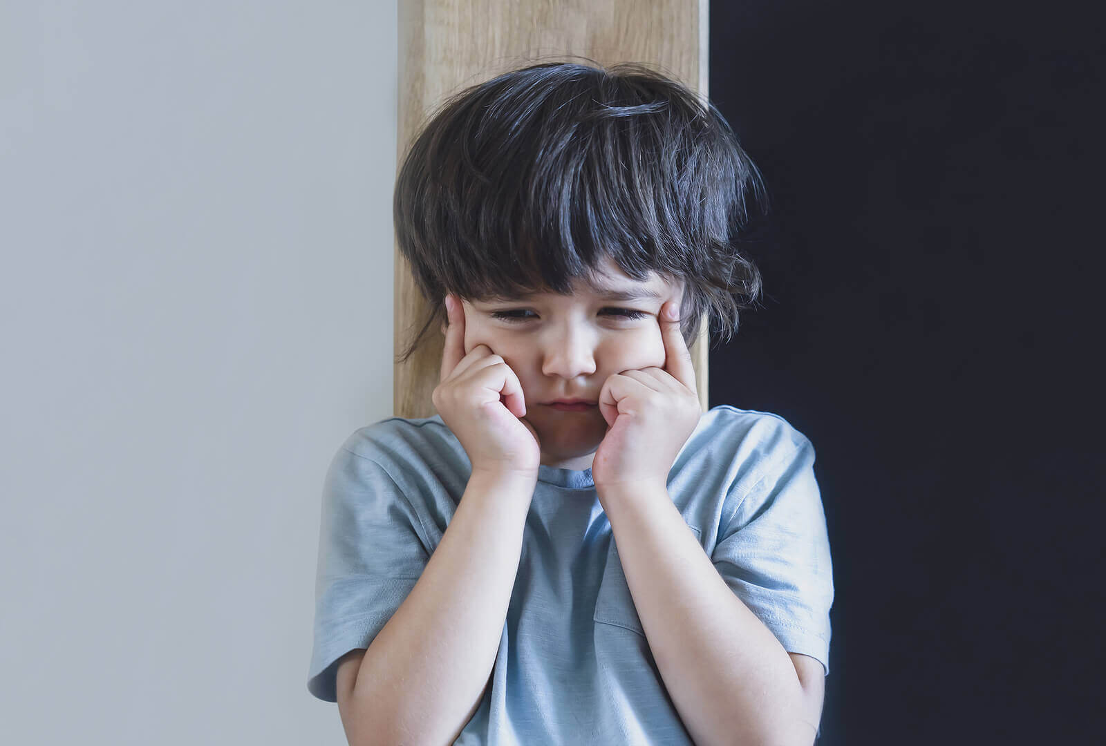 as crianças têm dificuldade para aceitar as mudanças