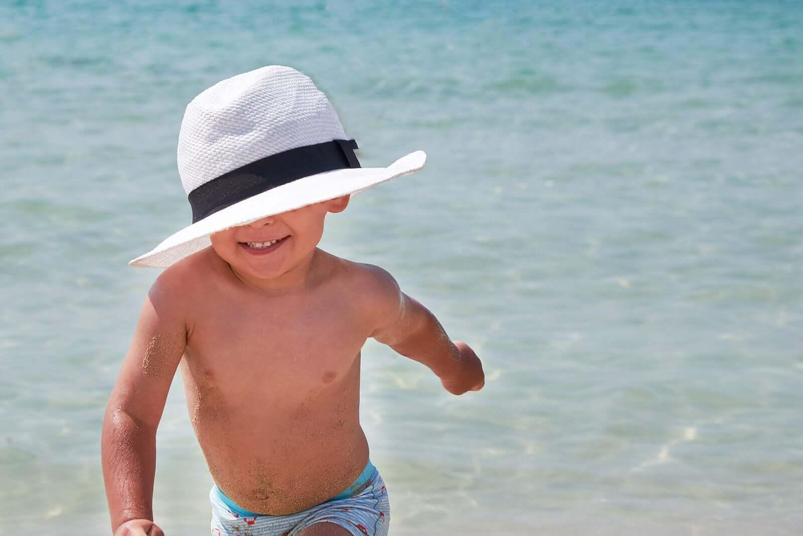 Proteção da pele de crianças com câncer