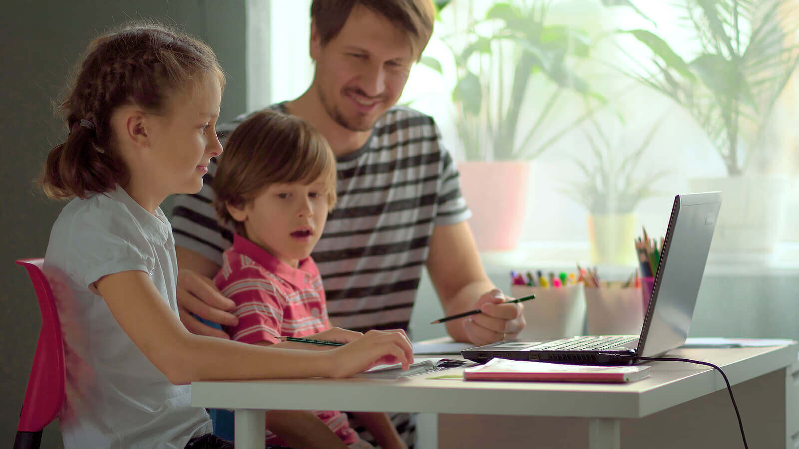 táticas para incentivar as crianças a estudar em casa