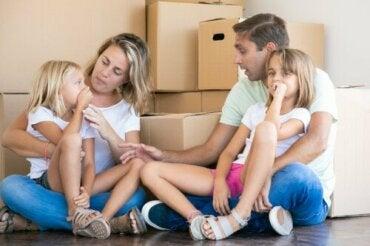 Por que as mudanças são mais difíceis para algumas crianças