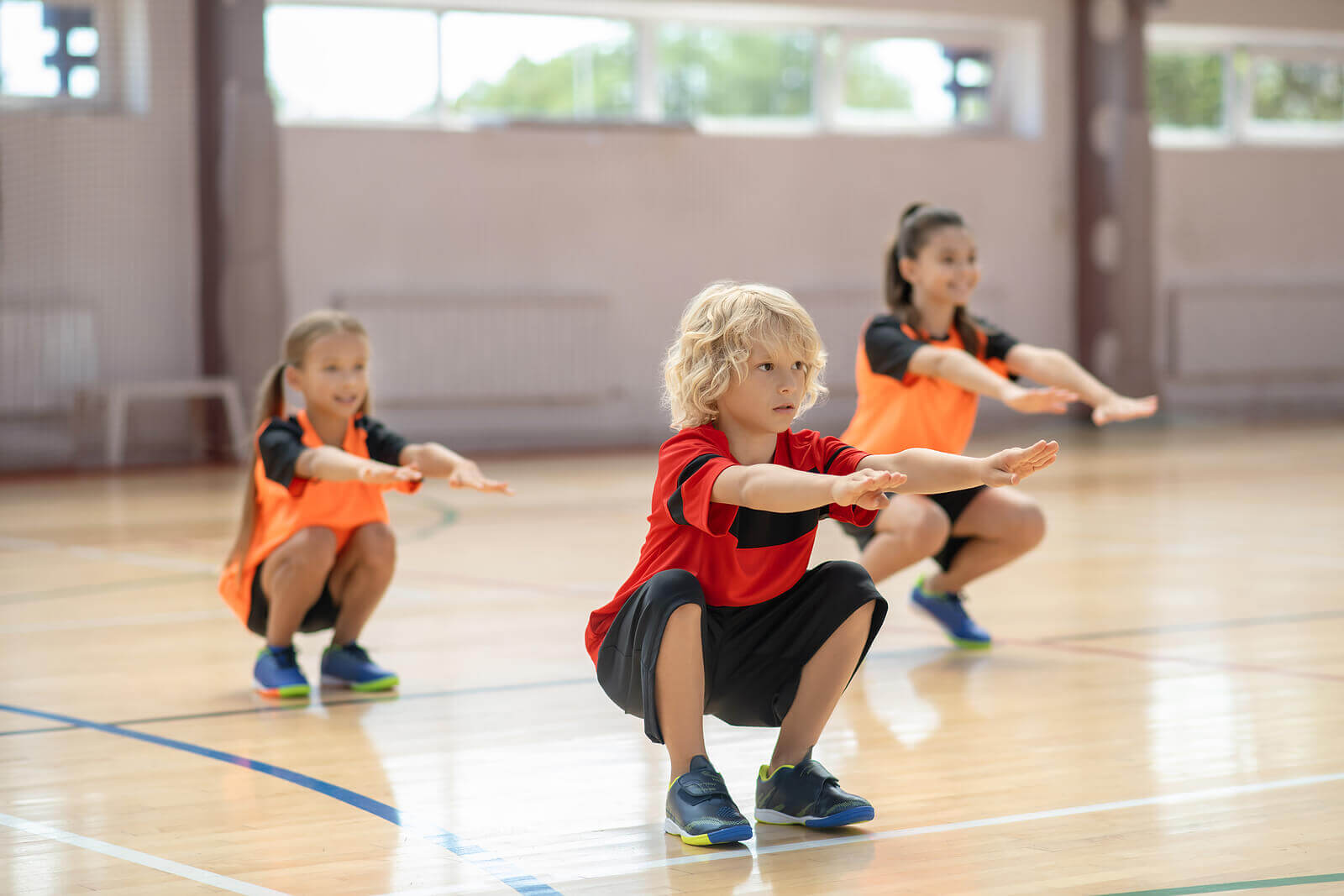Benefícios do treinamento de resistência para crianças