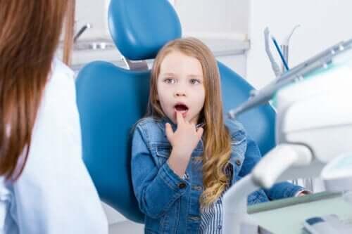 Sensibilidade dentária em crianças