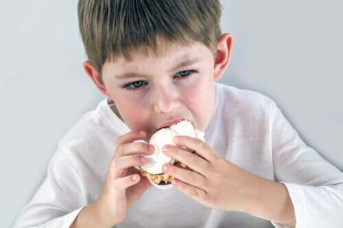 Fome emocional em crianças