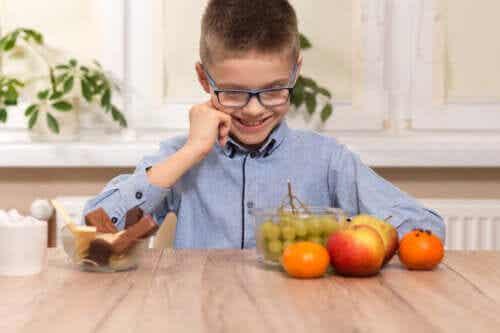 Consumo de adoçantes por crianças