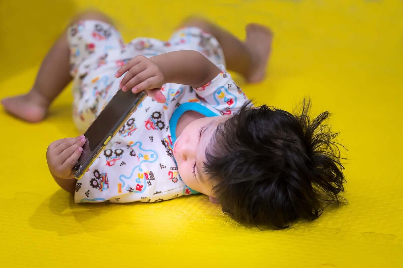 A síndrome da criança dependente de telas