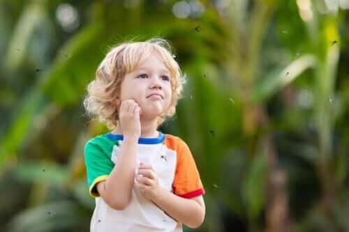 Alergia a picadas em bebês e crianças