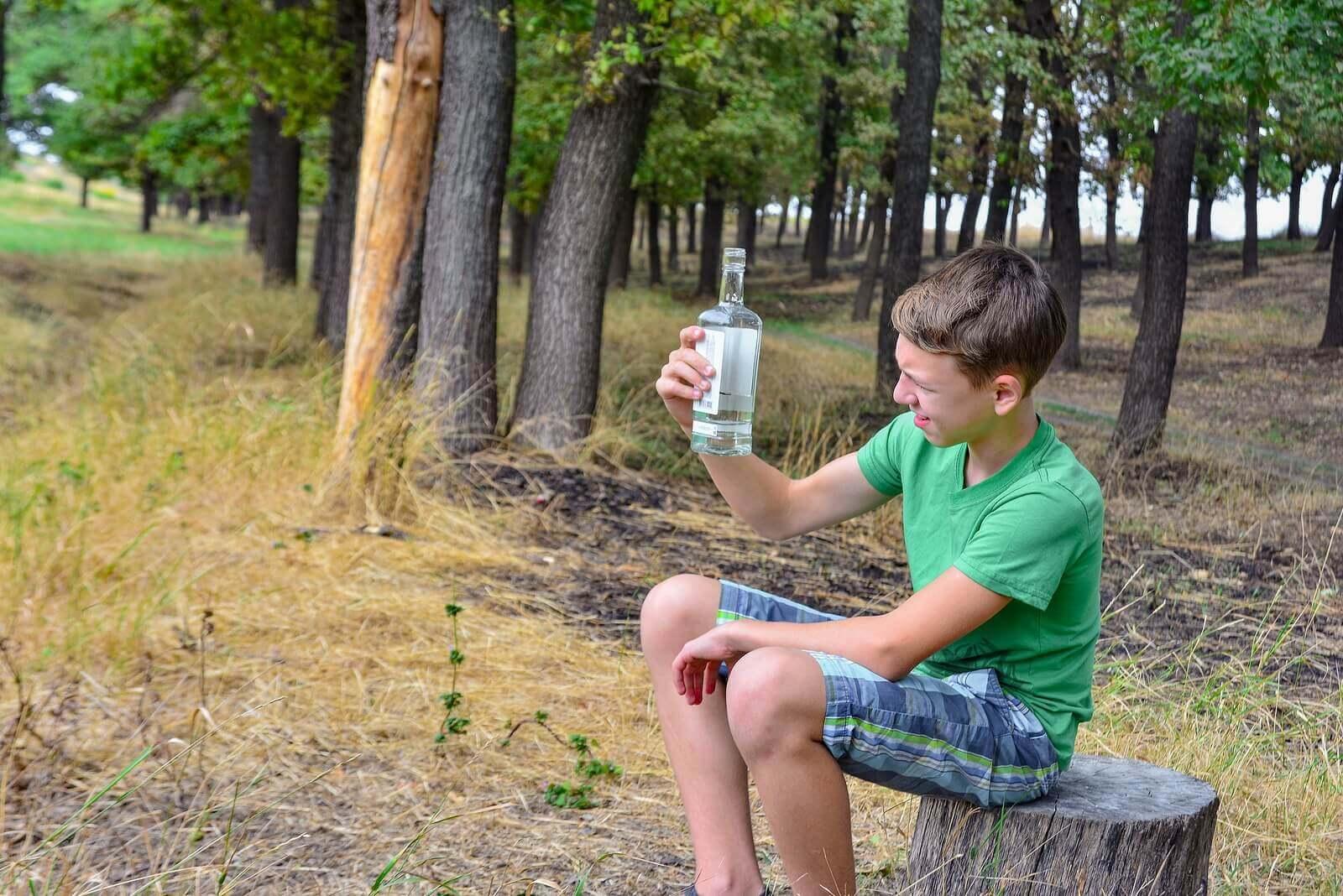 Comportamentos de risco em filhos adolescentes