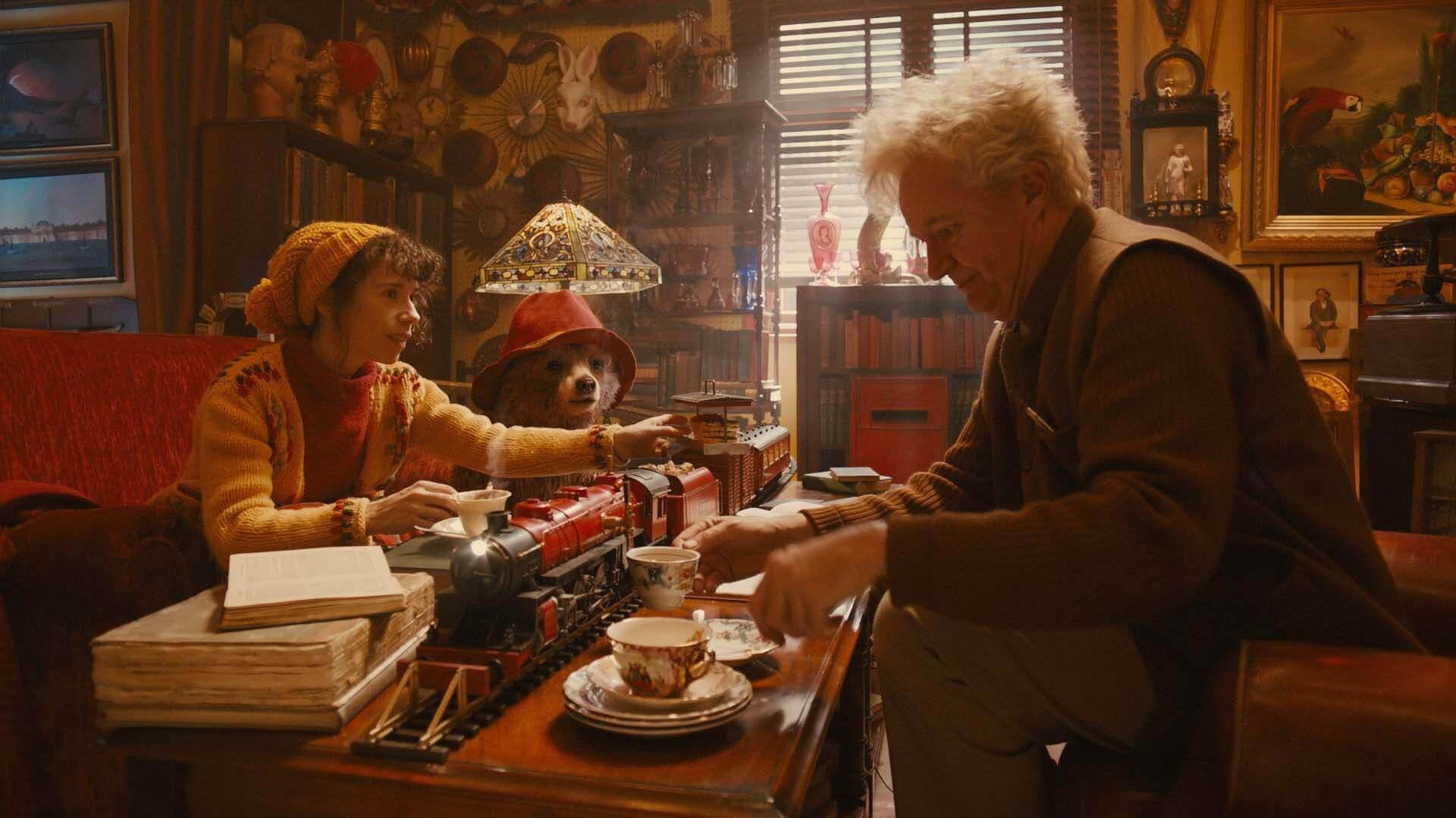 Cena do filme Aventuras de Paddington