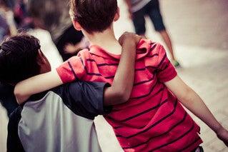 Amizade e ciúme em crianças.