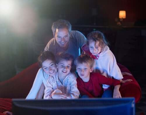 Toda a família pode curtir os filmes infantis junta.