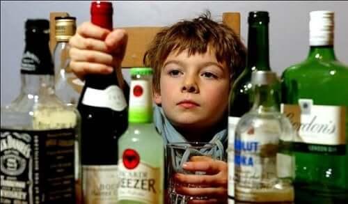 Como o consumo de álcool afeta os pequenos?